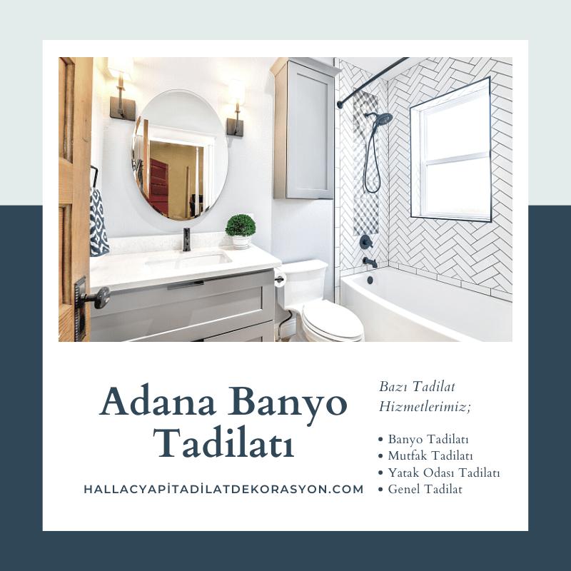Adana Banyo Tadilatı